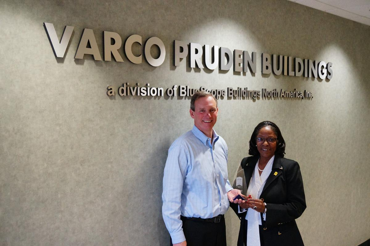 Varco Pruden Lands Top 10 Spot in Top Workplaces in Memphis, TN