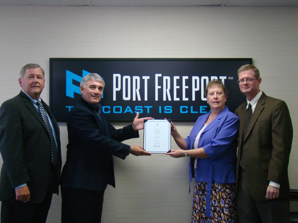 GFOA Recognizes Port Freeport with Certificate of Achievement for Excellence in Financial Reporting