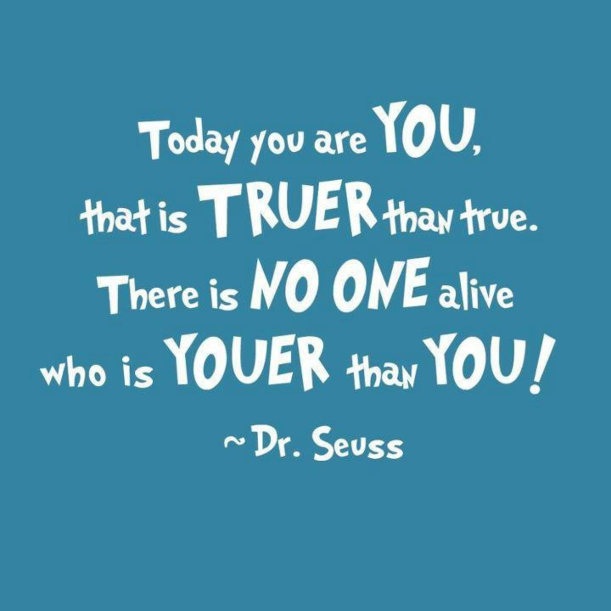 Truth from Dr Seuss
