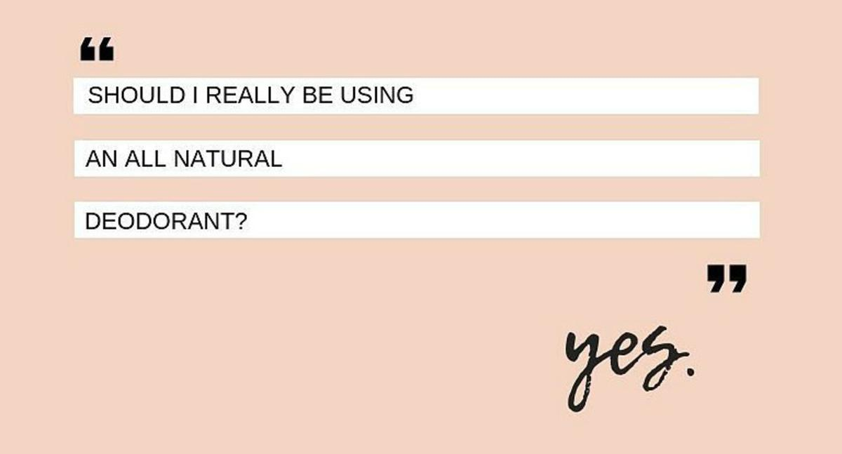 Natural Deodorants!  Are they Worth it?