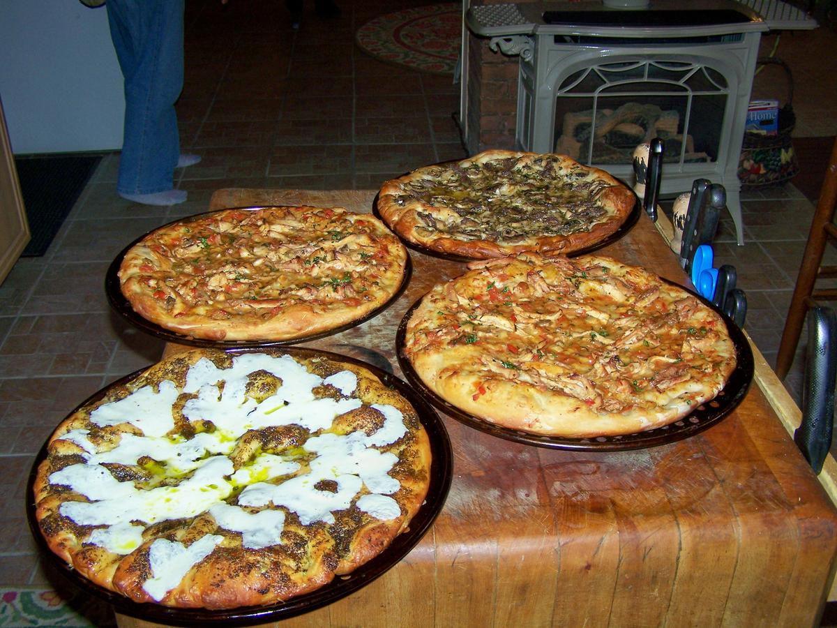 Food Party? How about a pizza party?