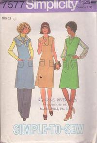 Vintage CUT Simplicity 7718 Sewing Pattern