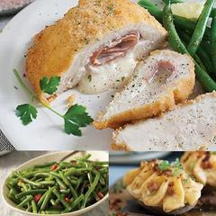 Chicken Cordon Bleu Meal