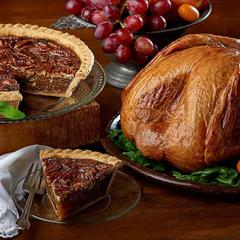 Thanksgiving Turkey and Pecan Pie
