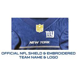 free shipping 5e8a0 20a01 New York Giants Jersey for Dogs