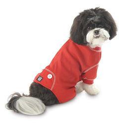 Red thermal doggie PJ's