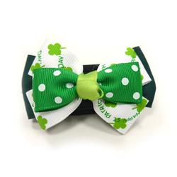 EasyBOW St Patricks  dog collar bowtie