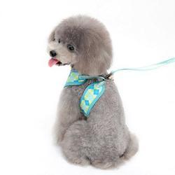 Dogo Easygo pink or blue step in argyle dog harness
