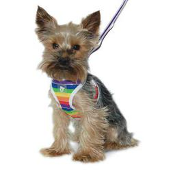 Dogo Easygo Rainbow striped soft all in one step in harness
