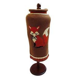 brown Fox knit dog Sweater