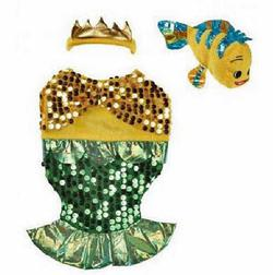 Glittery Mermaid Dog Costume