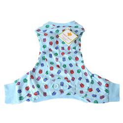 Cotton knit owl print dog pajama's