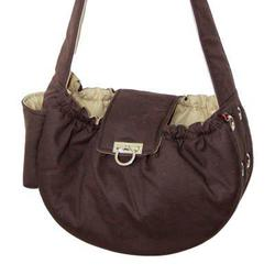 brown messenger dogo carrier