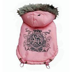 stylish dog coat with elasticated bottom