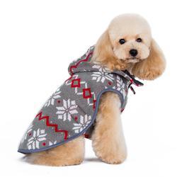 classic waterproof maroon dog trench coat