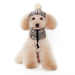 Brown Aviator Dogo Pet Hat
