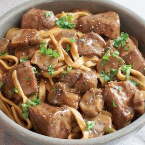 Beef Stroganoff Meal
