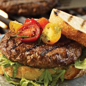 Mail Order Burger Dinner
