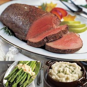 Chateaubriand dinner shipped to you