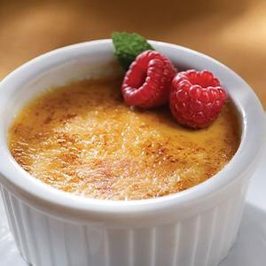 Creme Brulee Desserts Delivered