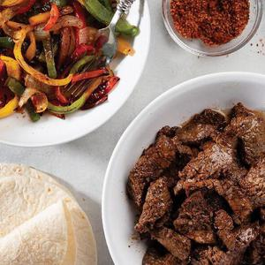 Beef Fajitas Delivered