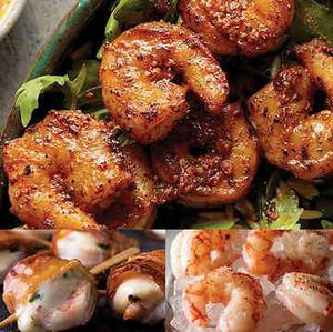 Gluten free shrimp dinner