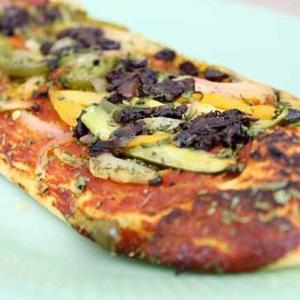 Verdura Gourmet Artisan Flatbread with Kalamata Olives