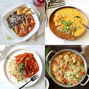 International Flavors Vegan Meal Sampler - 5 Days