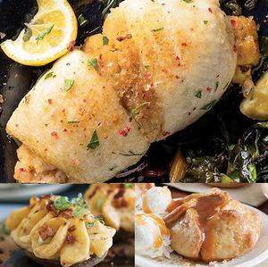 Stuffed Sole Dinner