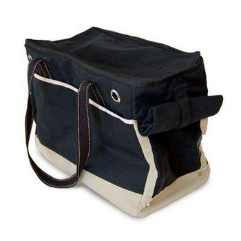 dogo pet roomy black dog carrier tote