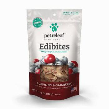 Blueberry Cranberry CBD Hemp dog Oil Edibites
