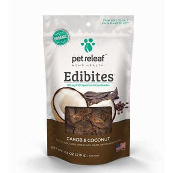 Carob Coconut dog CBD Hemp Oil Edibites