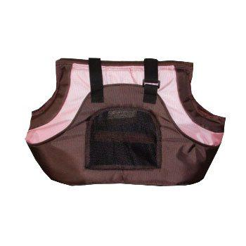 Pink and Black Oxford Dog Carrier -