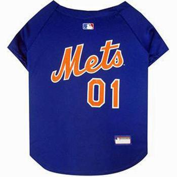 NY Mets dog jersey
