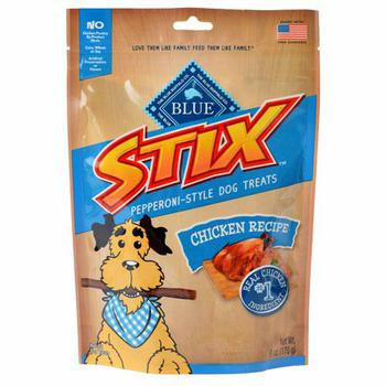 Blue Buffalo Stix Chicken Pepperoni- Dog Treats