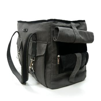 Dogo Black Buckle Tote V2 Dog Carrier