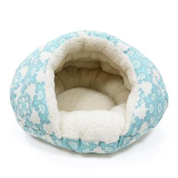 Dogo Burger Dog Bed Blue Dots