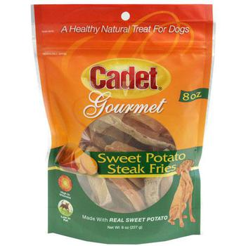 Cadet Sweet Potato Steak Fries Dog Treats