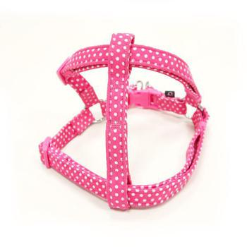 Dogo EasyCLICK step in Harness Polka Dots