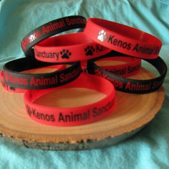Keno's Animal Sanctuary rubber Bracelet