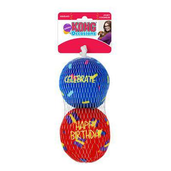 KONG Occasions Birthday Balls small Dog Toy