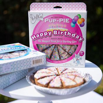 lazy dog happy birthday dog pie cake