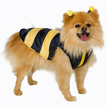 Boy Dog Bumble Bee Costume
