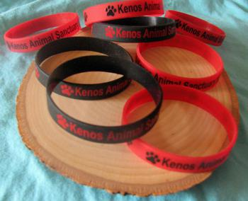 Keno's Animal Sanctuary rubber Bracelet