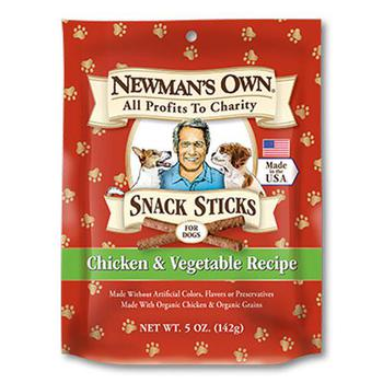 Paul Newman's Chicken & Vegetable Sticks Dog Treats