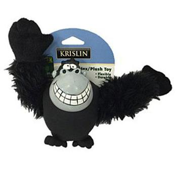 Krislin Pet - Plush Gorilla Dog Toy