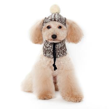 Brown Aviator Dogo Pet Hat