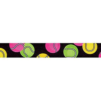 tennis balls design on  lead