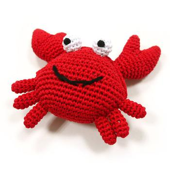 Dogo Red Crab teething Toy