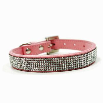 Dogo Pink VIP Bling Dog Collar